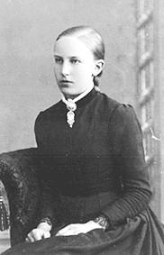 PORTRETT: ANNE RABSTAD FØDT: 1872 GIFT: SKRAMSTAD, RABSTAD