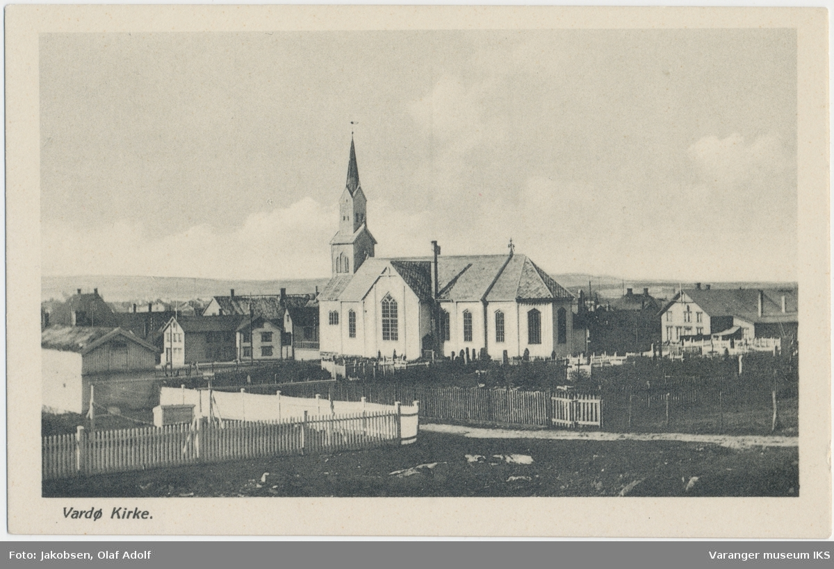 Postkort, Vardø kirke