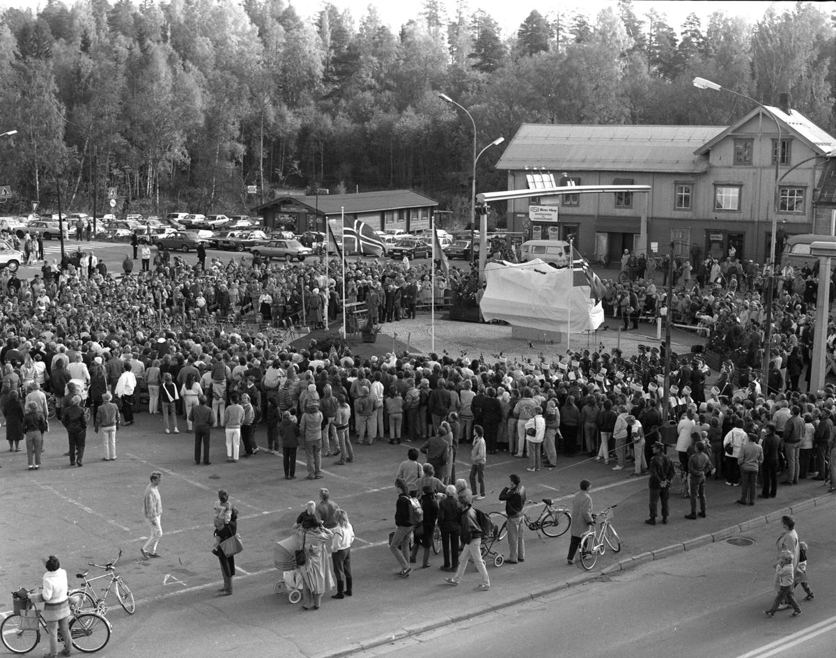 Avduking av Lasskjørermonument