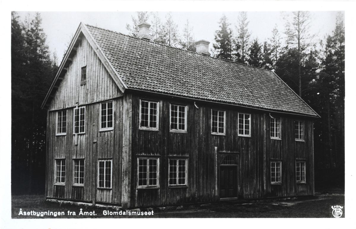 Åsetbygningen fra Åmot. Glomdalsmuseet, Elverum.