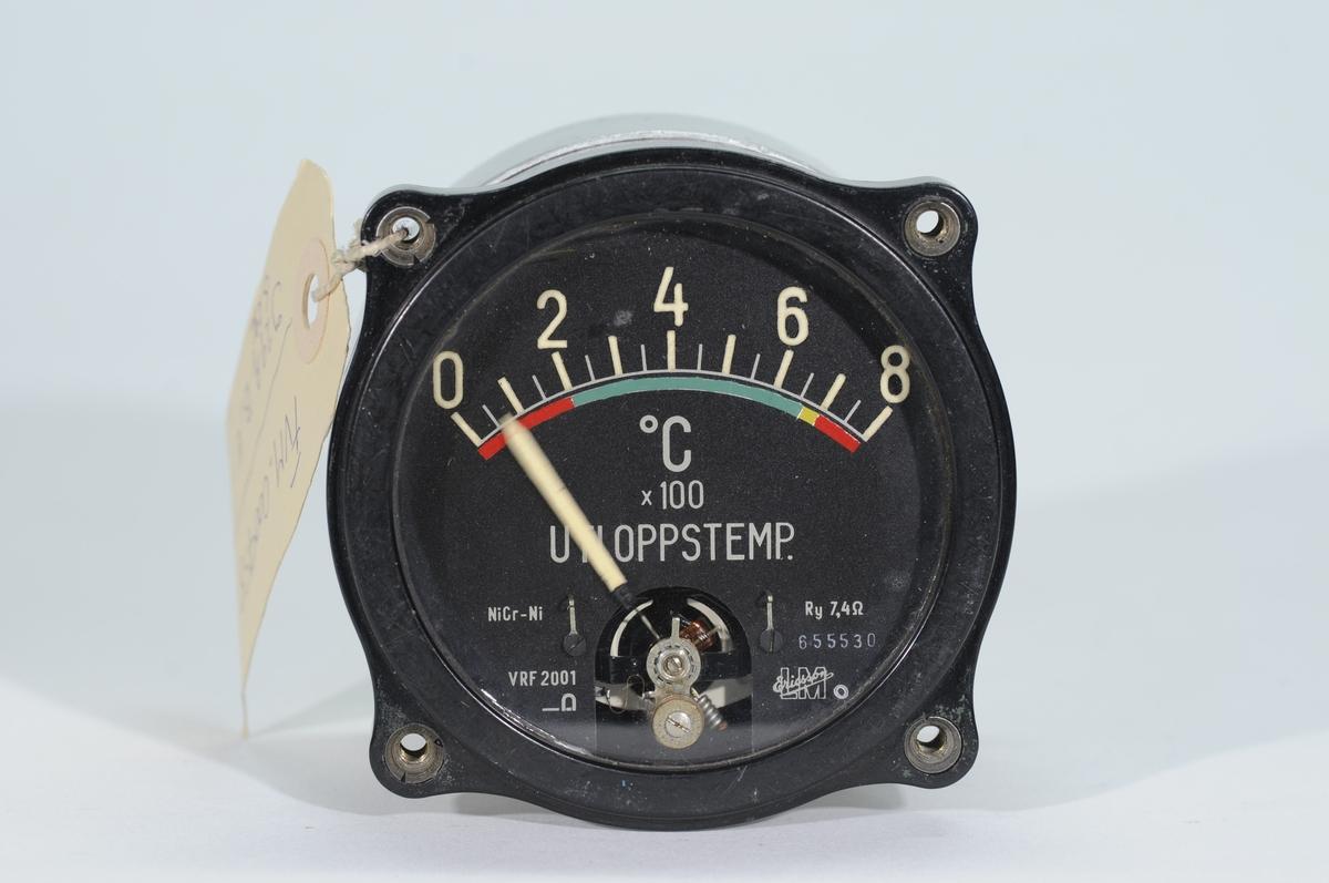 Utloppstemperaturmätare till turbojetmotor RM2. RM2 har suttit i  Fpl. J 29A, J 29B, J 29E och S 29C.