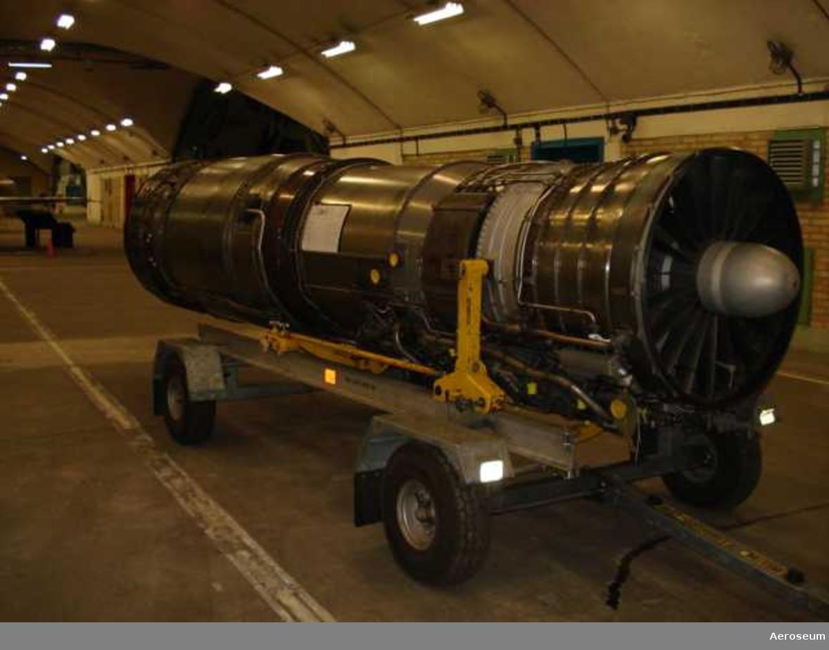 Flygplansmotor till flygplan 37 VIGGEN