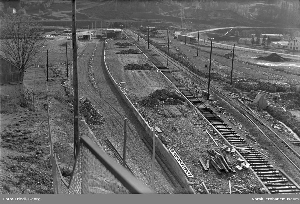 Bygging av Arna nye stasjon