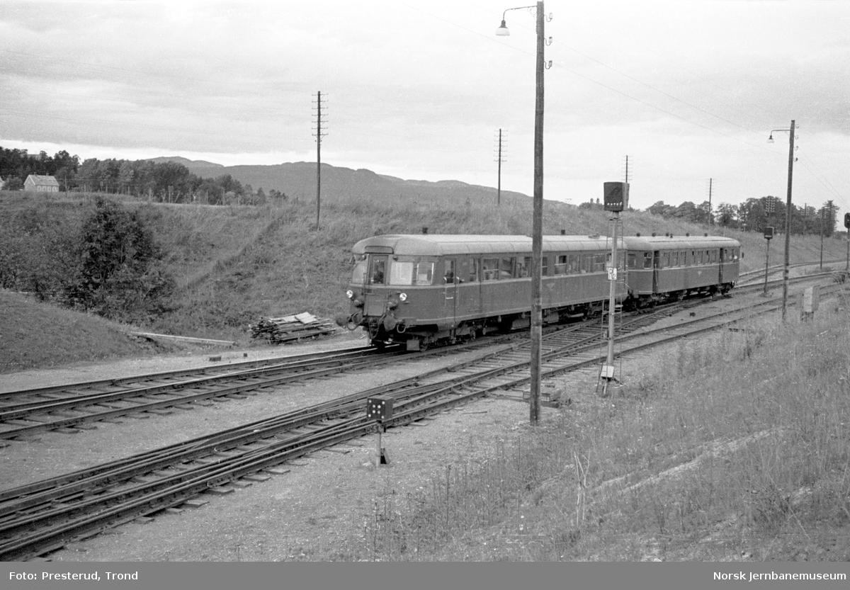 Dieselmotorvognsett type 86 ved Leangen