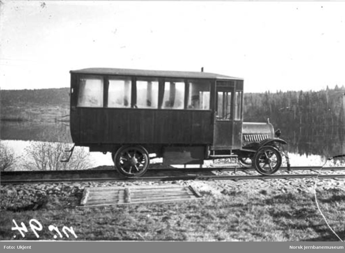 Vestmarkalinjens skinnebil litra C-m type 3 nr. 18205, Opel
