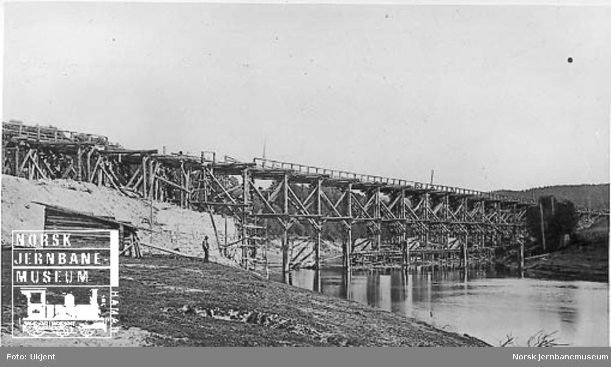 Bygging av ny Børke bru i 1864-65