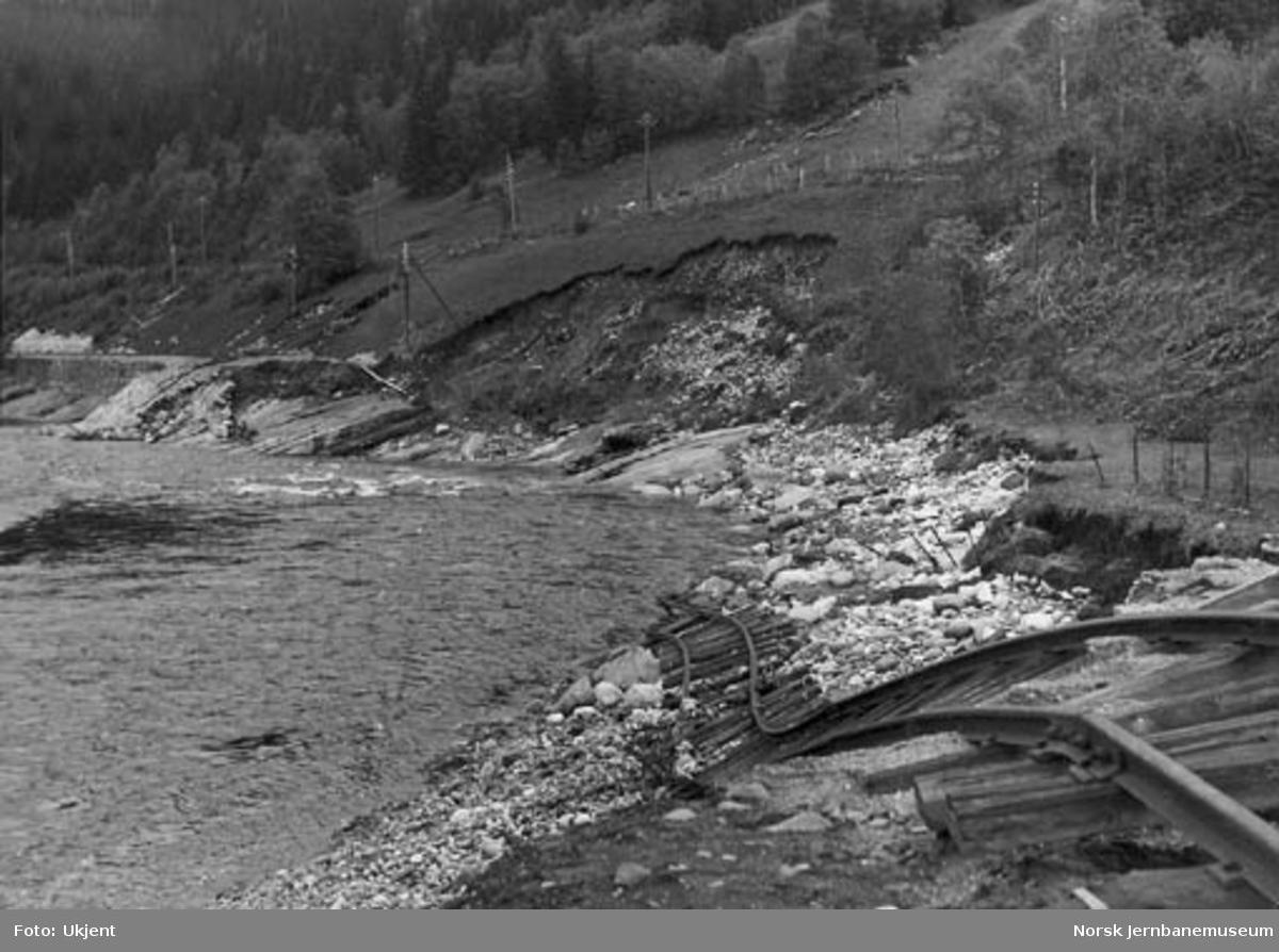 Ødelagt linje, Kirkvollbruddet ved Singsås, sett nordover
