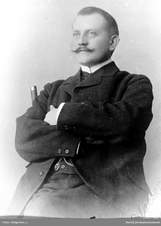 Portrett av Ferdinand Bjerke