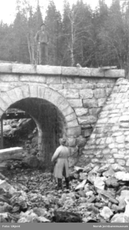 Kulvert for Grasørbekken mellom Laksfors og Eiterstraum