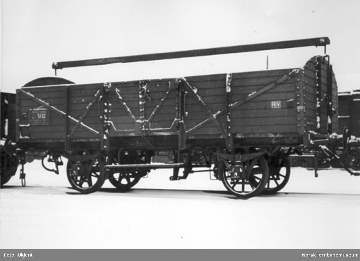 NSB kassevogn litra L3 nr. 5132