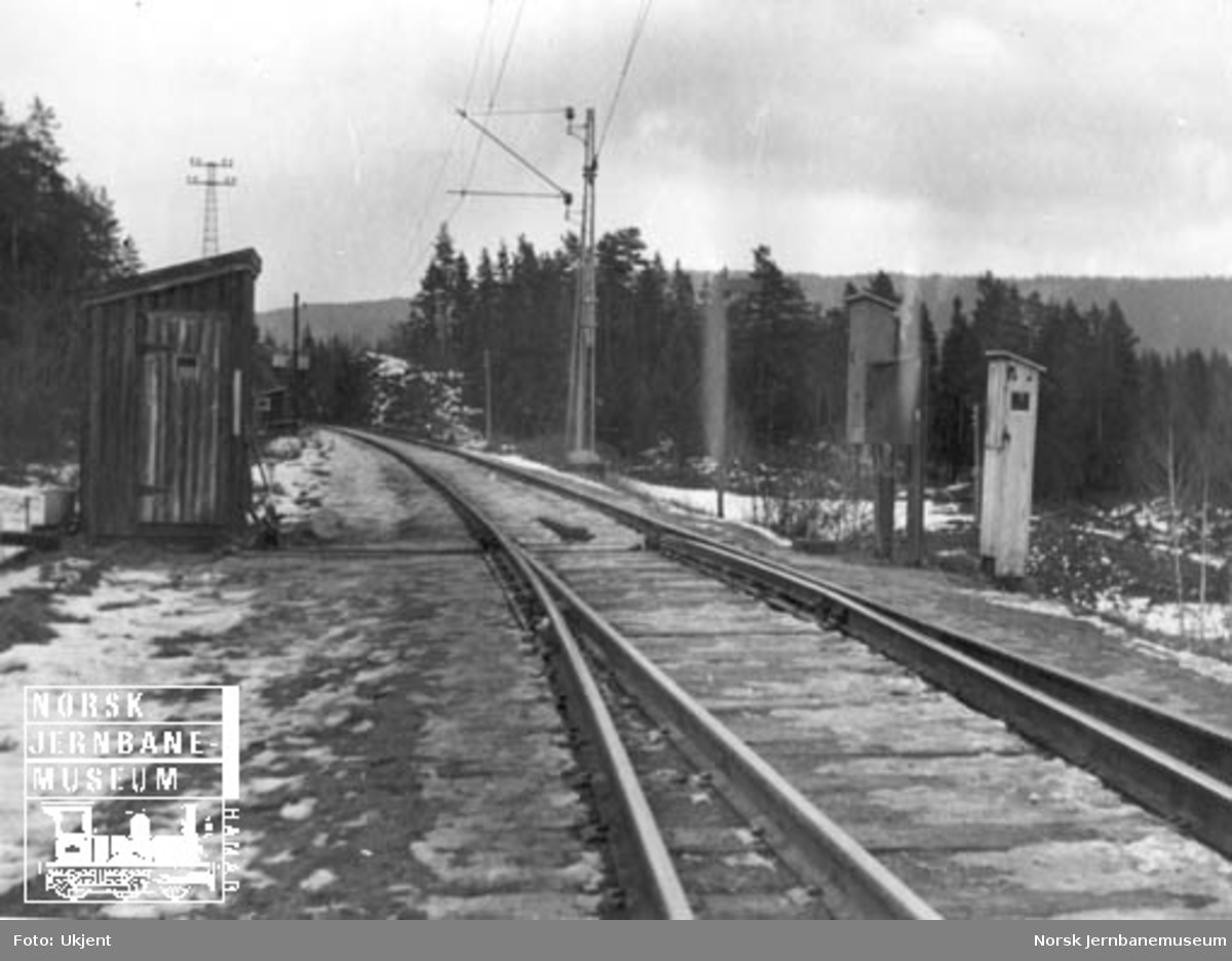 Sporveksel og apparatskap Skollenborg stasjon
