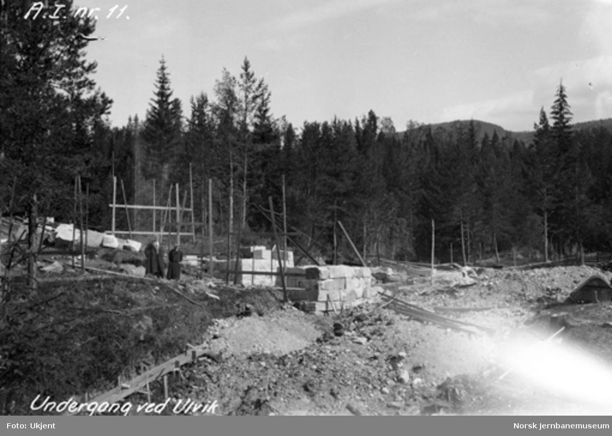 Undergang ved Ulvik