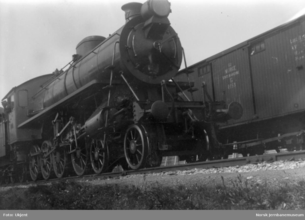 Damplokomotiv type 26a nr. 217, muligens som nytt