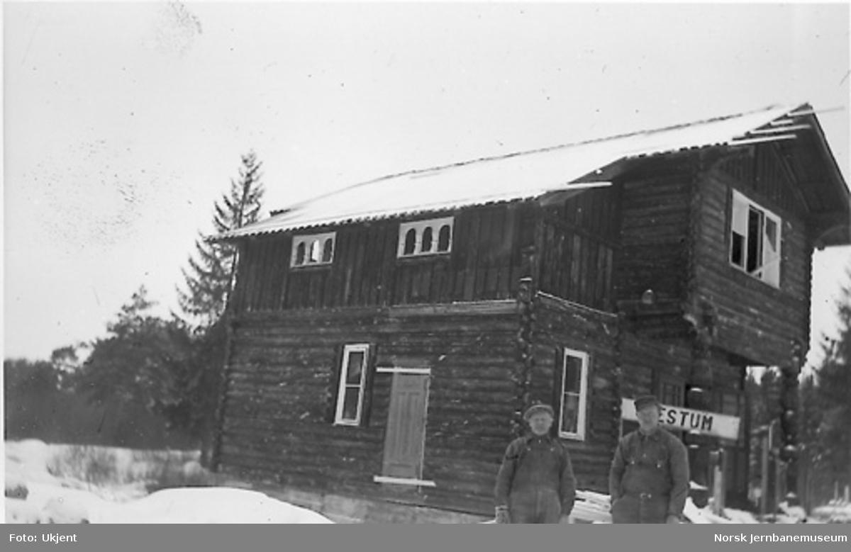 Nytt museum Martodden : Bestum stasjonsbygning gjenoppbygget