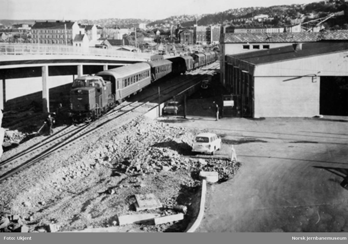 Åpning av ny trasé for Havnebanen