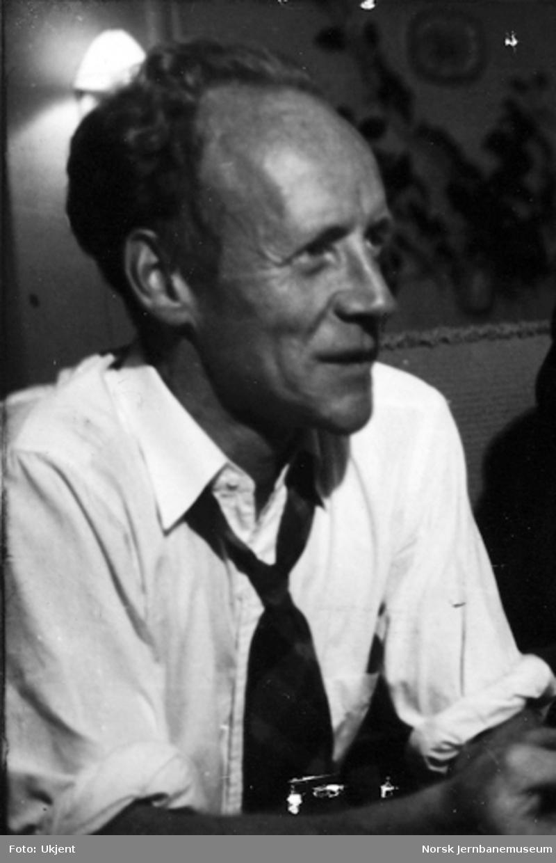 Fredrik Arentz, stasjonsmester Grong 1964-1975