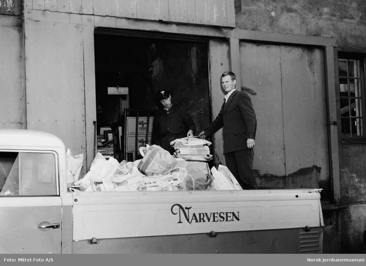 Narvesens avisdistribusjon til kioskene