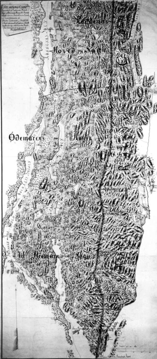 kart over aremark Kart over en del af Röddenæs Hovedsogn og Ödemark. Annex til  kart over aremark